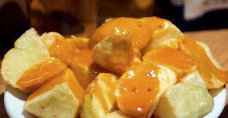 Patatas bravas (Facebook Docamar)