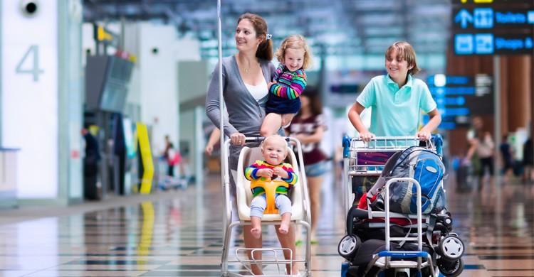 Llegar con tiempo al aeropuerto (Istock)