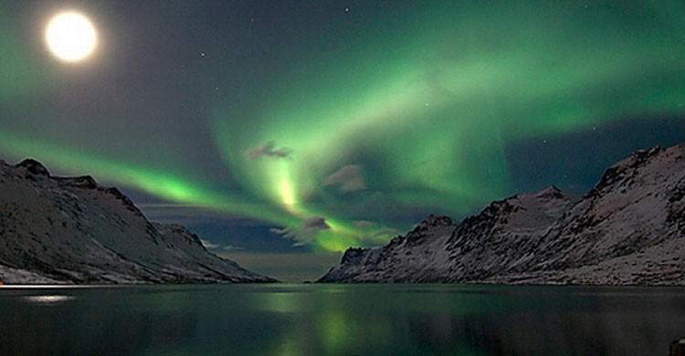 Espectacular Aurora Boreal (Flickr)