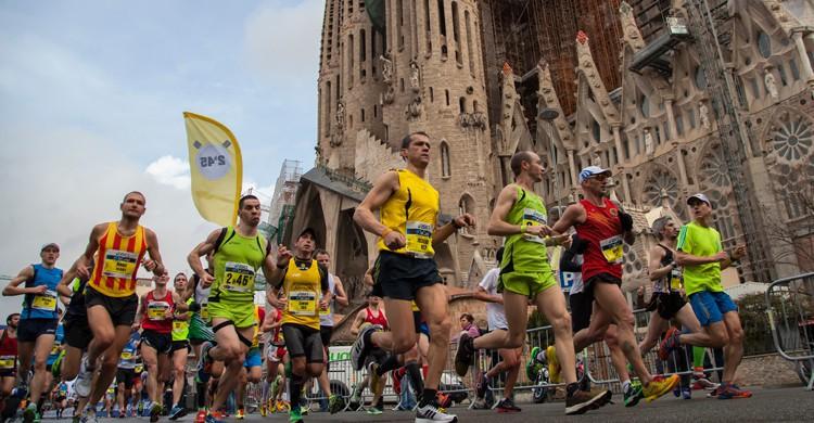 La Maratón de Barcelona es una de las más importantes de Europa (iStock)