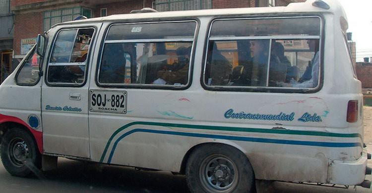 Transporte público en Bogotá, Colombia (Flickr)