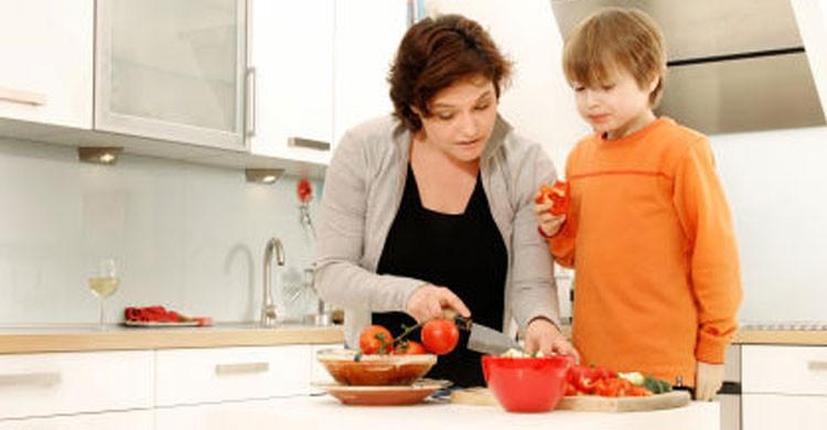 Cocina en familia (Flickr)