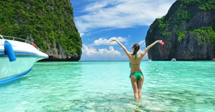 Ko Phi Phi, en Tailandia (iStock)