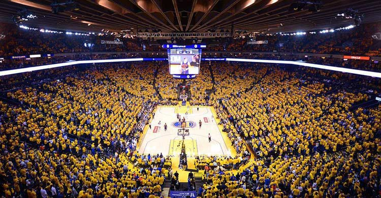 Oracle Arena, en San Francisco (oraclearena.com)