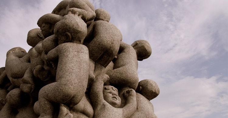 Las famosas esculturas de Oslo, Noruega (Flickr)
