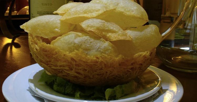 Patata frita Soufflé (chetango.wix.com)