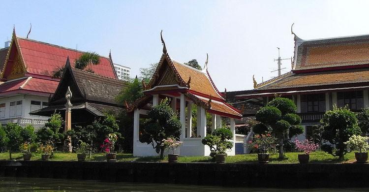 Templo en Pranakorn, Tailandia (Flickr)