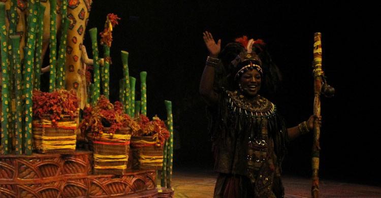 Espectáculo de El Rey León (Flickr)