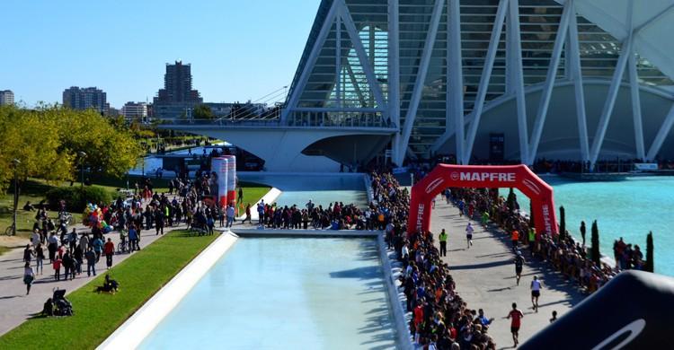 Maratón de Valencia (iStock)