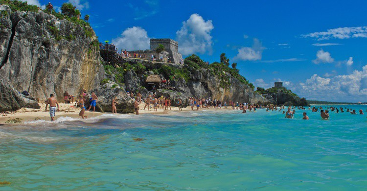 Playa de Tulum. Graeme Churchard (Flickr)