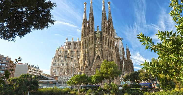 Sagrada Familia de Barcelona. Luciano Mortula (iStock)