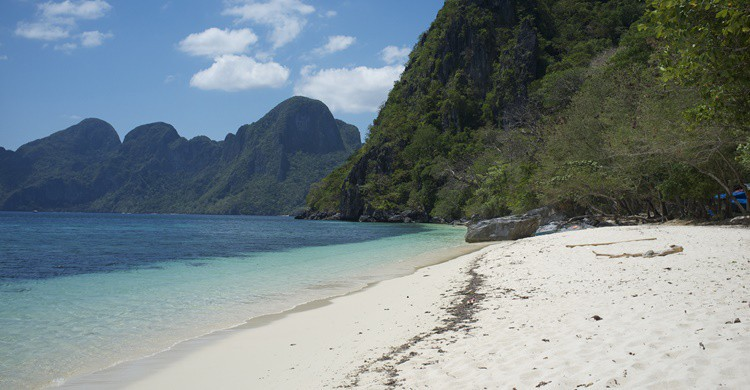 Playa de El Nido en Filipinas. Aleksandr Zykov (Flickr)
