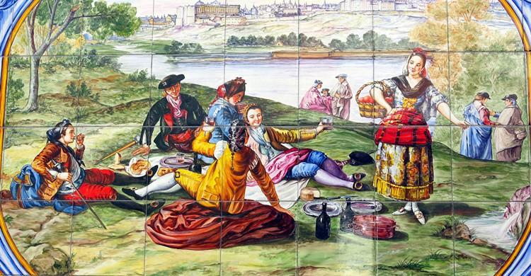 La pradera de San Isidro en el siglo XIX. Manuel (Flickr)