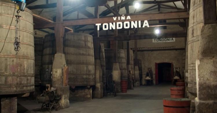 Interior de las bodegas López Heredia Viña Tondonia. Imamon (Flickr)