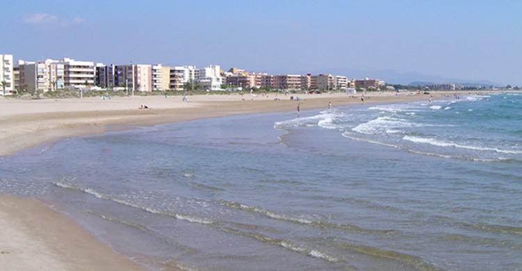 Playa en Canet d'En Berenguer. (http://www.hotelplayacanet.com)