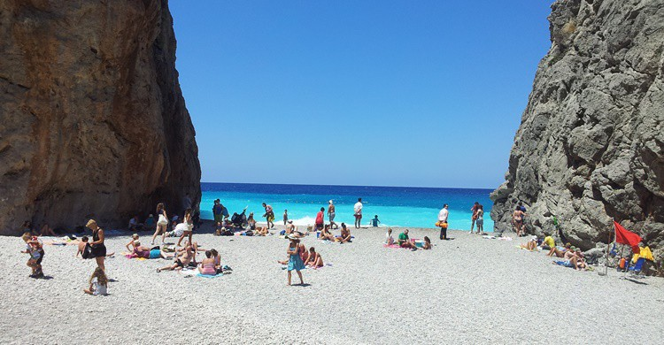 Playa de la Calobra o de Torrent de Pareis. Morfheos (Flickr)