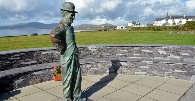 Estatua de Chaplin en Irlanda. Tom Ballard (Flickr)