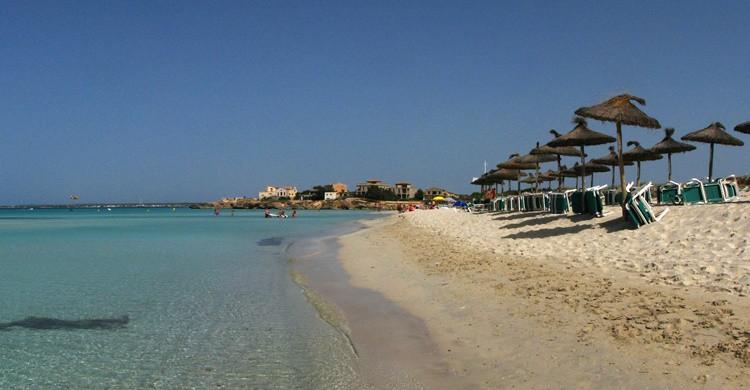 Playa de Es trenc, en Mallorca. G.e.o.r.g.e (Flickr)