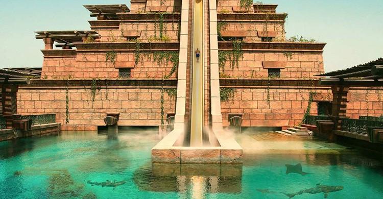 Torre de Neptuno. Aquaventure (Facebook)
