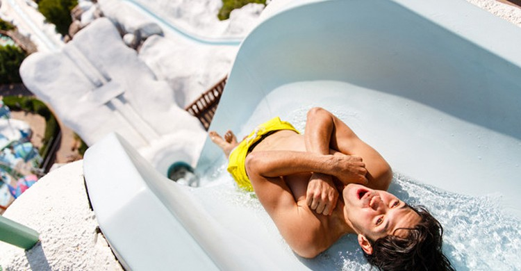 Summit Plummet. Blizzard Beach (Walt Dysney World)