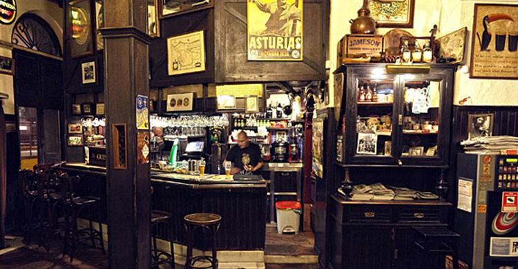 Cervecería Ca Beleño, Oviedo (Fuente: viajesrockyfotos.com)