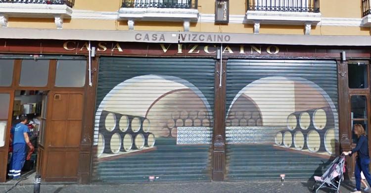 El cierre del bar. Casa Vizcaíno (Google Maps)