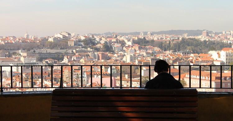 Mirador de Graça. Canção de Lisboa, Foter