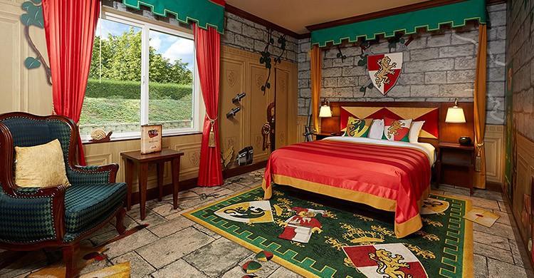 Legoland Hotel (http://www.legoland.com/california/legoland-hotel/themed-rooms/)