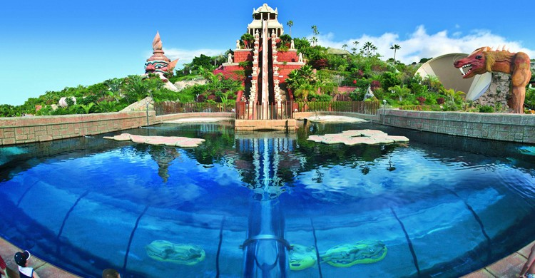 Tower of Power. Siam Park (Facebook)