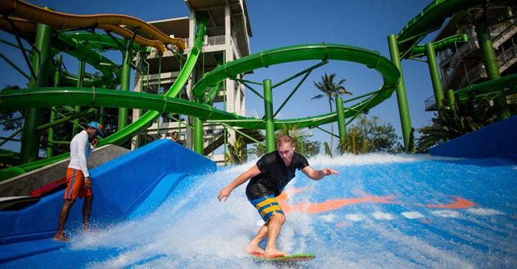 Surfboard. Waterbom Bali (Facebook)