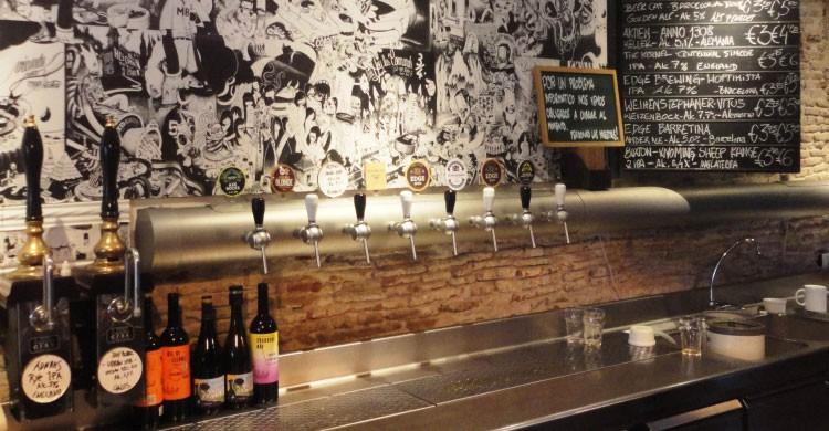 Cervecería Ale&Hop, Bercelona (Fuente: boabeerblog.com)