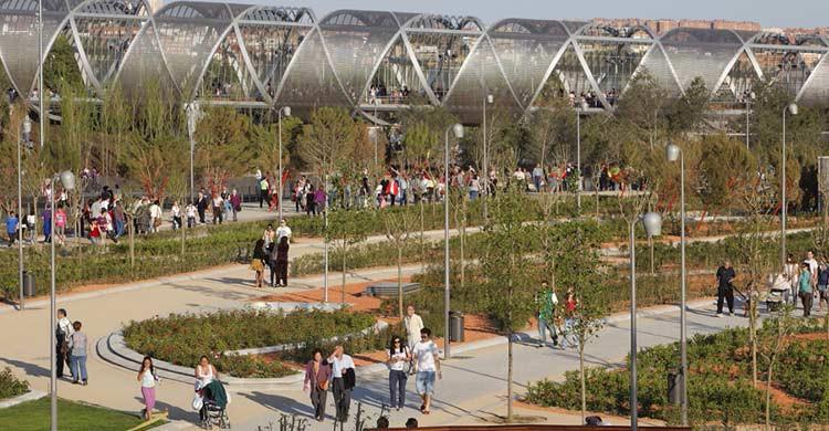 Parque de Arganzuela en Madrid Río (madrid.es)