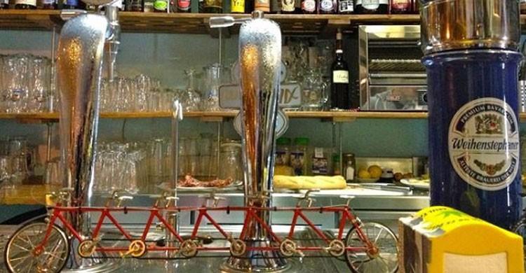 Cervecería El Pedal (Fuente: cheapinmadrid.com)