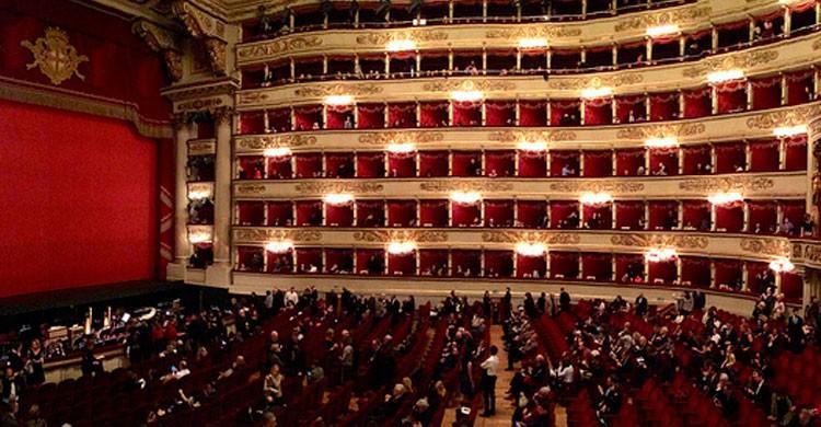 Teatro La Scala de Milán (Flickr)