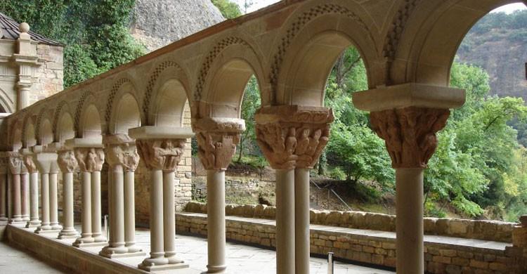 Monasterio San Juan de la Peña, Huesca (Flickr)