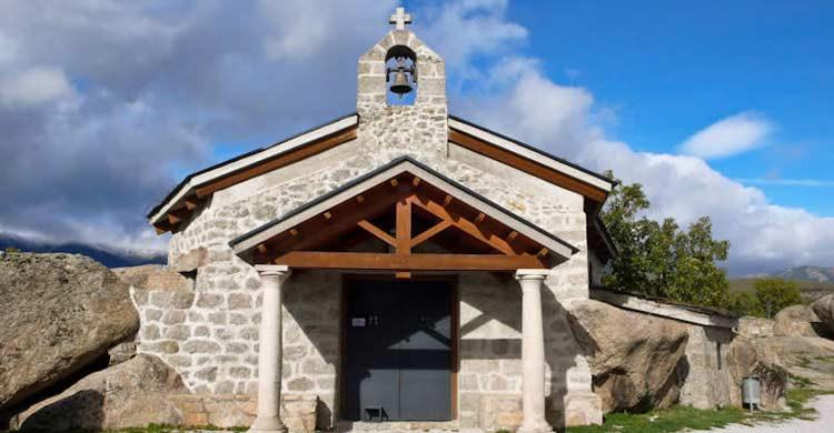 Ermita de la Virgen del Rosario, en Soto del Real (parquenacionalsierradeguadarrama.es)