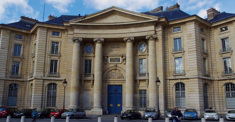 Universidad de Paris, Francia (Flickr)