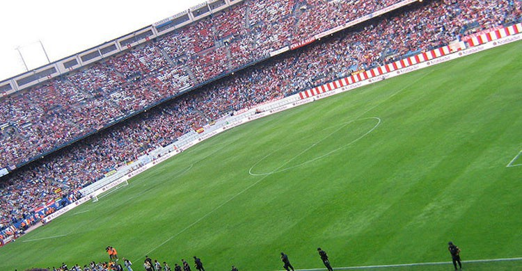 Estadio Vicente Calderón de Madrid (Flickr)