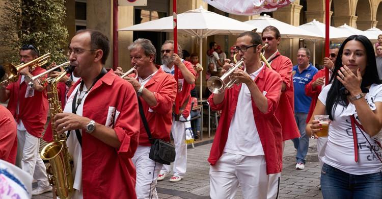 vida en la calle en Logroño (Istock)