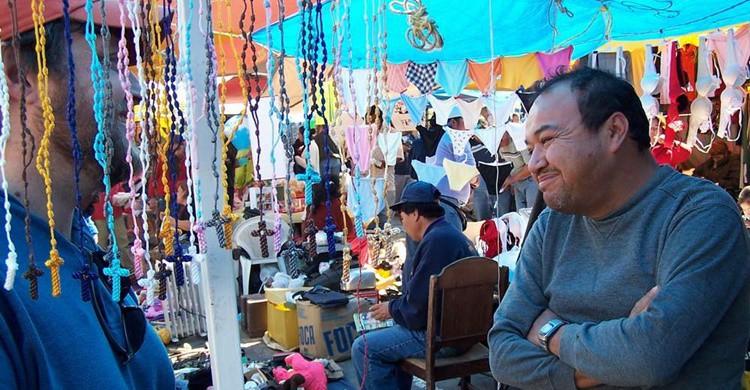 Mercadillo en San Miguel del Allende. Chris Doelle (Flickr)