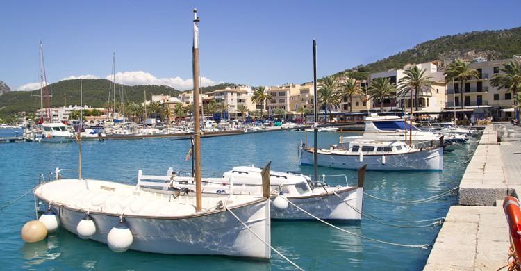 Uno de los puertos exclusivos de Port d'Andratx. LUNAMARINA (iStock)