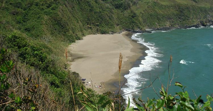 Vista de Playa Escondida. Quetzalcalli (Flickr).
