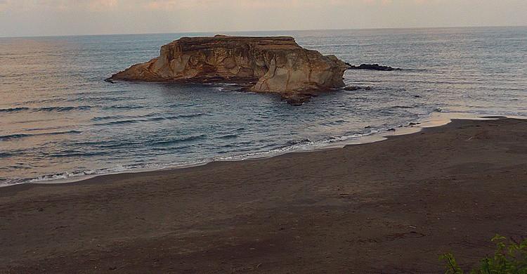 Playa Muñecos. Jose Francisco Del Valle Mojica (Flickr).