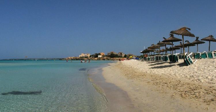 Playa de Es Trenc. G.e.o.r.g.e (Flickr)