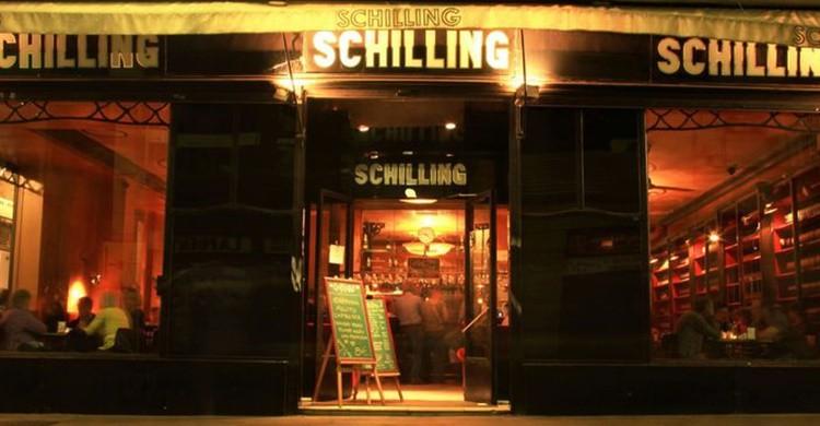 Fachada del Café Schilling (https://www.facebook.com/Caf%C3%A9-Schilling-681680808527298/)