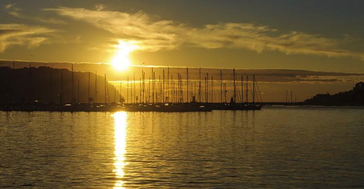 Puesta de sol en Port d'Andratx. PHDG (iStock)