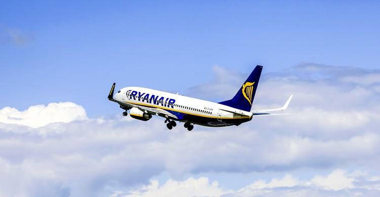 Avión de Ryanair (iStock)