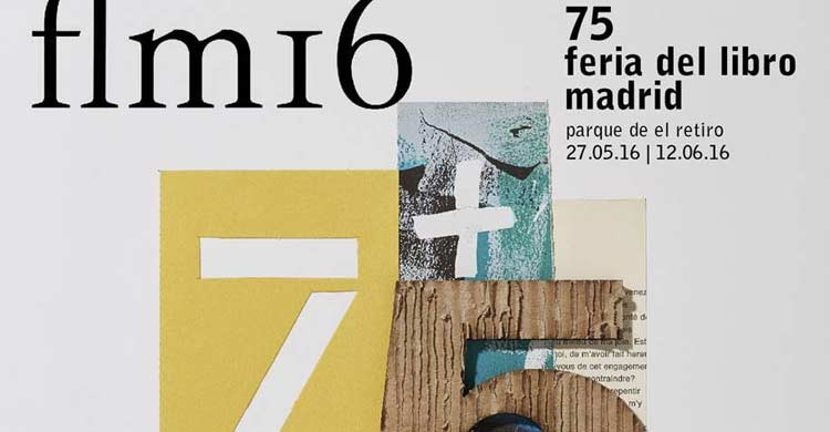 Detalle del cartel de la Feria del Libro 2016 (ferialibromadrid.com)