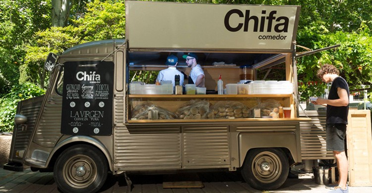 Foodtruck de Chifa. Chifa (Facebook)