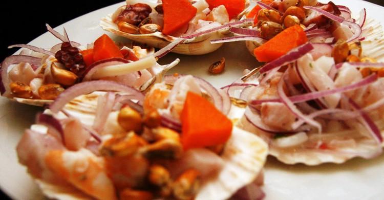 Plato de Chincha. Chincha Restaurante (Facebook)